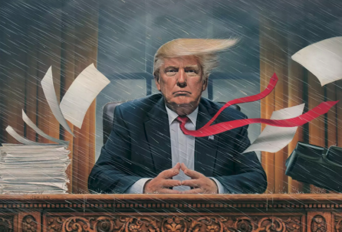 US stocks down as gov shutdown looms amid Trump chaos: FridayTrading News Briefing
