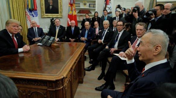 Trump notes progress in China talks: FridayTrading News briefing